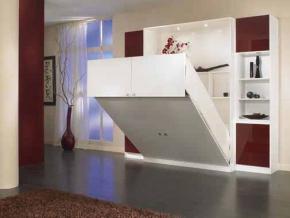 lit armoire 140 x 190 - Lit Armoire Escamotable Pas Cher